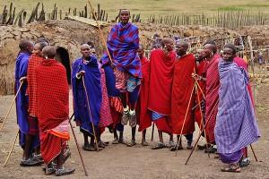 Maasai-Village