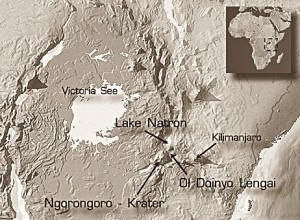 MAP OF OLDOINYO LENGAI